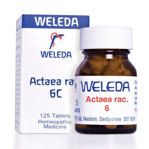 Weleda Actaea Rac 6 125 tablets