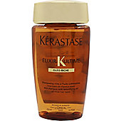 Kérastase Elixir Ultime Bain Riche Shampoo 250ml - For Thick Hair