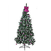 Washington Slim Snow Tipped 7ft Christmas Tree
