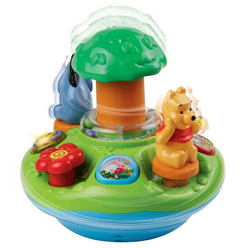 VTech Winnie The Pooh Play and Learn Spinning Top