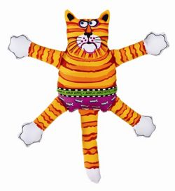 FatCat Mini Terrible Nasty Scaries Awful Mad Kitty Dog Toy