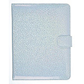 Trendz Glitter 7 inch Tablet Case, White