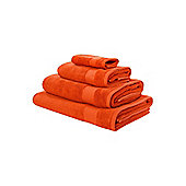 Linea Softer Feel Egyptian Cotton Face Cloth Orange