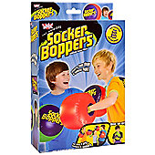 Wicked Socker Boppers Inflatable Boxing Pillows (Set of 2 colours Red and Green)