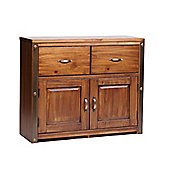 Core Products Forge FG722 Antique Brown Medium 2 Drawer 2 Door Sideboard