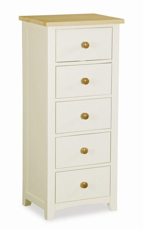 Alterton Furniture St. Ives 5 Drawer Tallboy Chest