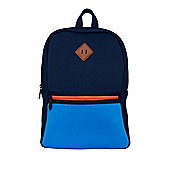 F&F Colour Block Scuba Style Backpack