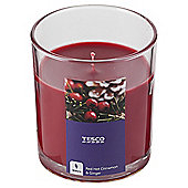 Tesco Red Hot Cinnamon Filled Candle