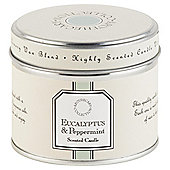 Tesco Apothecary Eucalyptus and Peppermint Candle in a Tin