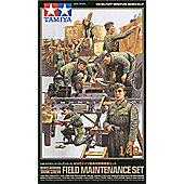 WWII German Tank Crew Field Maintenance Set - 1:48 Military - Tamiya