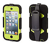 Griffin Survivor Case for iPod touch 5 - Black/Citron