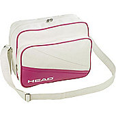 Head Idaho Retro Pink / White Flight Bag Adjustable / Detachable Straps
