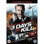 Three Days To Kill DVD