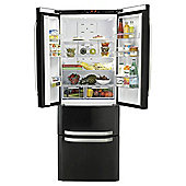 Hotpoint FFU4DK Fridge Freezer, A+ Energy Rating, Black, 70cm