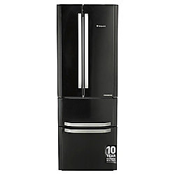 Hotpoint FFU4DK Freestanding, Fridge Freezer, 70cm, A+ Energy Rating, Black
