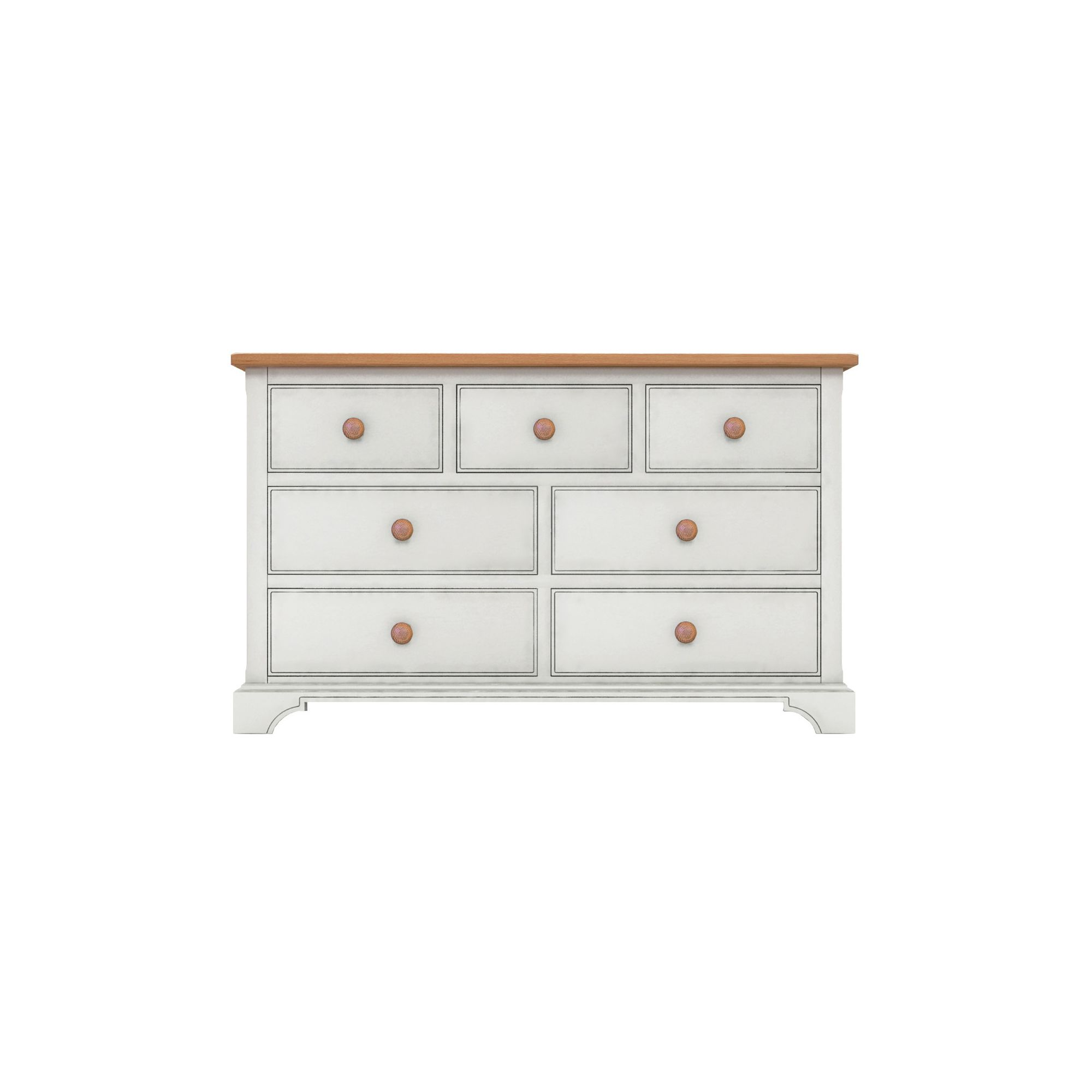 Thorndon Highgrove Bedroom 7 Drawer Chest at Tesco Direct