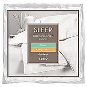 Tesco Anti-Allergy Double Duvet 4.5 Tog Cotton Cover