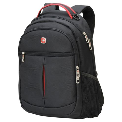 Wenger Swiss Gear Backpack, Black 22L