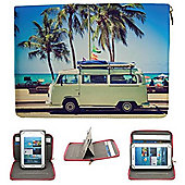 Streetslips Limited Edition Camper Van Tablet Case Universal up to 8 Inch Vibrant Print Unique Functionality SSCV8 5060236109965