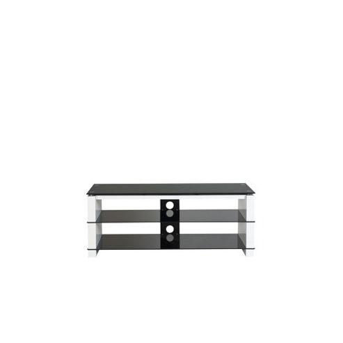 Ateca Vision Cristal TV Stand - White High Gloss
