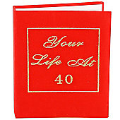 Your Life 40th Birthday Photo Album