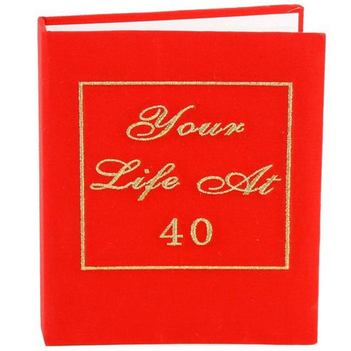 ... Life 40th Birthday Photo Album from our The Home Stylist range - Tesco