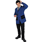 Teddy Boy Blue - Adult Costume Size: 38-40