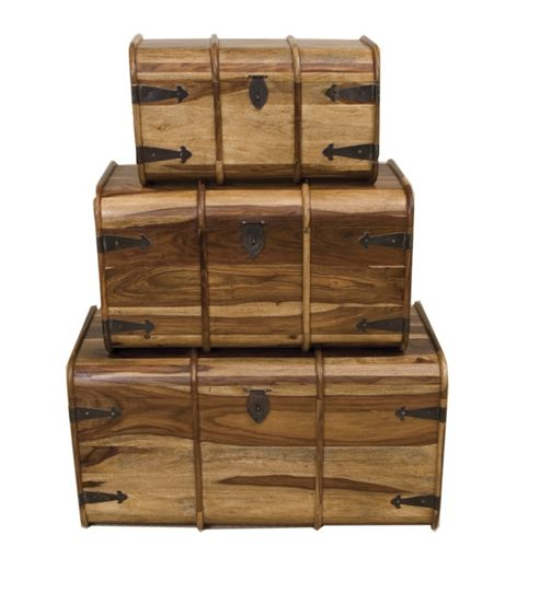 Elements Jaitu Traditional Trunk (Set of 3)