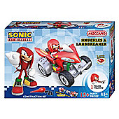 Meccano Sonic The Hedgehog Knuckles & Land Breaker