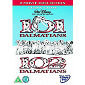 101 Dalmations/102 Dalmations (DVD Boxset)