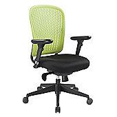 Enduro E-Last Mid-Back Task Chair - Green