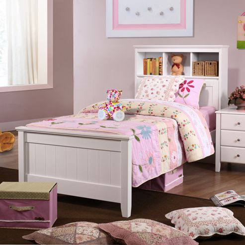 Butterworth Single Storage Bed - White