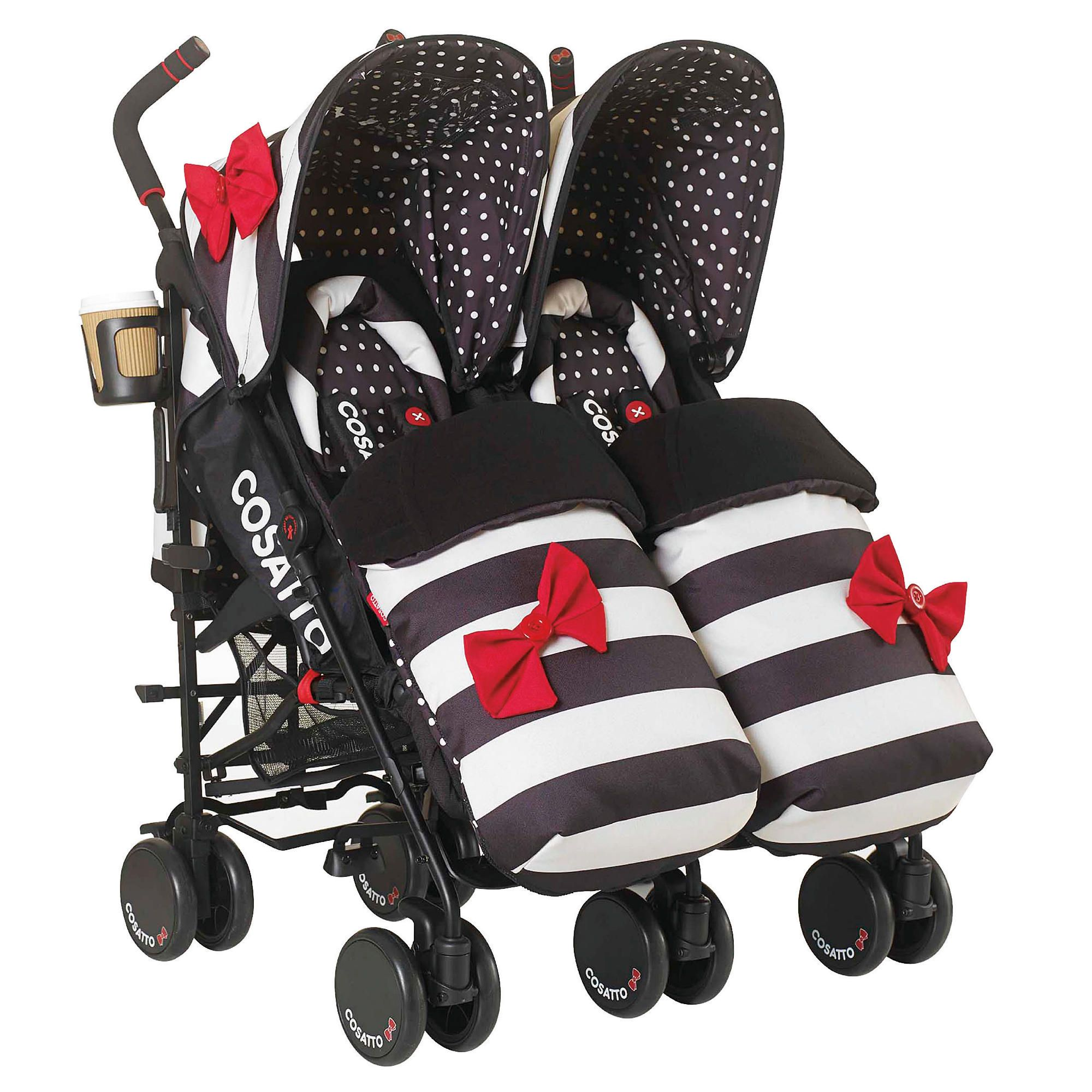 Cosatto Supa Dupa Twin Pushchair Go Lightly at Tesco Direct