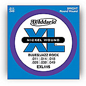 D'Addario EXL115 Electric Guitar Strings - Medium