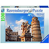 Jigsaw - Leaning Tower of Piza Puzzle (1500 Pieces) - Ravensburger