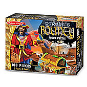 Pirates Bounty - Floor Puzzle - 100 Piece 60x90cm - Melissa & Doug
