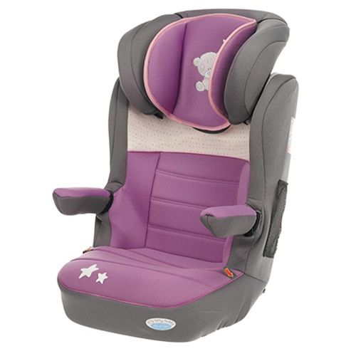 Obaby Group 2-3 Highback Booster Car Seat, Tiny Tatty Teddy Dusky Pink