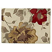 Autumnal Floral Rug 80 x 150cm
