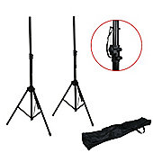PA Speaker Stand Pack - 2 x Stands & Bag