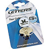 John Letters Cap Clip Ball Marker