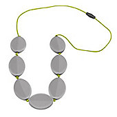 Jellystone Caru Teething Necklace in Just Grey