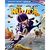 The Nut Job (3D Blu-ray, Blu-Ray & UV)
