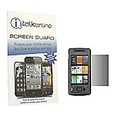 S-Protect LCD Screen Protector & Micro Fibre Cleaning Cloth - Sony Ericsson X1