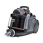 AEG AUFFLEXA Ultra Flex-A-Flex Bagless Cylinder Vacuum Cleaner