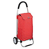 Coolmovers Red Polka Dot Shopping Trolley