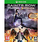 Saints Row IV Re-elected + Gat Out of Hell Xbox One
