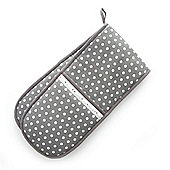 Dexam Vintage Collection Grey Spot Double Oven Glove
