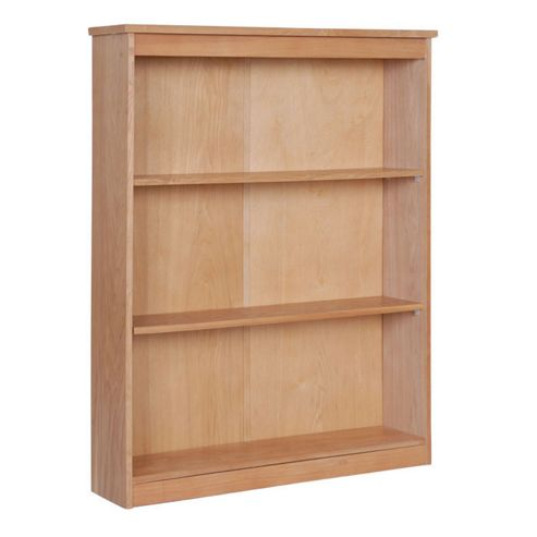 Home Essence Traditional Low Wide Bookcase