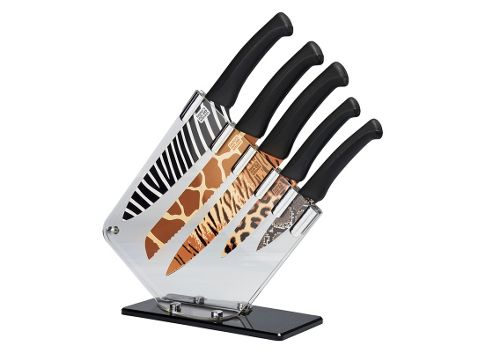 Taylor Eye Witness Wild 5 Piece Knife Block Set