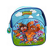 Character Moshi Monsters Blue Junior Backpack